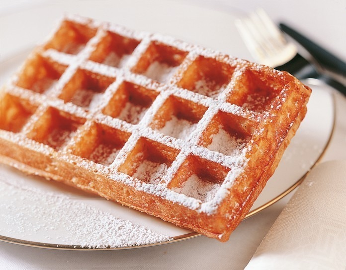 Verse Brusselse wafels