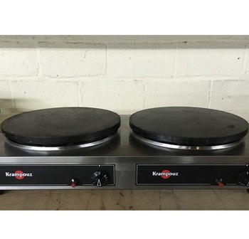 2HCGCIF4015 - second-hand double crepe maker gas 40cm