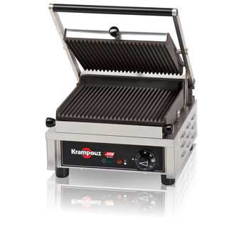 GECID3AO - Contact grill small: ribbed/ribbed