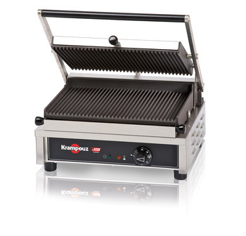 GECID4AO - Contact grill Medium: ribbed/ribbed