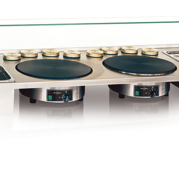 PTEA2A03 - Removable working top 2 crepe makers
