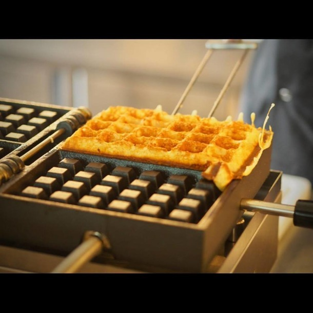 WECCBEAT - USA/CA Waffle iron KRAMPOUZ 4x6 Brussels Big Turnable