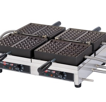 WECCHBAT - USA/CA Waffle iron KRAMPOUZ 4x7 Liège Double model